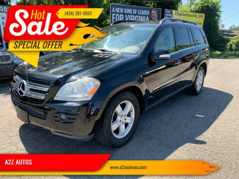 2007 Mercedes-Benz GL-Class for sale at A2Z AUTOS in Charlottesville VA