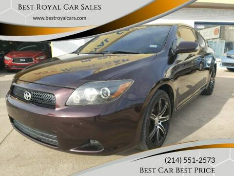 2009 Scion tC for sale at Best Royal Car Sales in Dallas TX