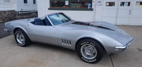 1968 Chevrolet Corvette for sale at Carroll Street Auto in Manchester NH