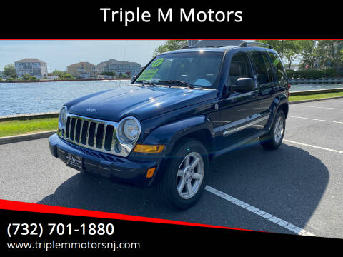 2007 Jeep Liberty for sale at Triple M Motors in Point Pleasant NJ