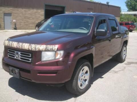 2008 Honda Ridgeline for sale at ELITE AUTOMOTIVE in Euclid OH