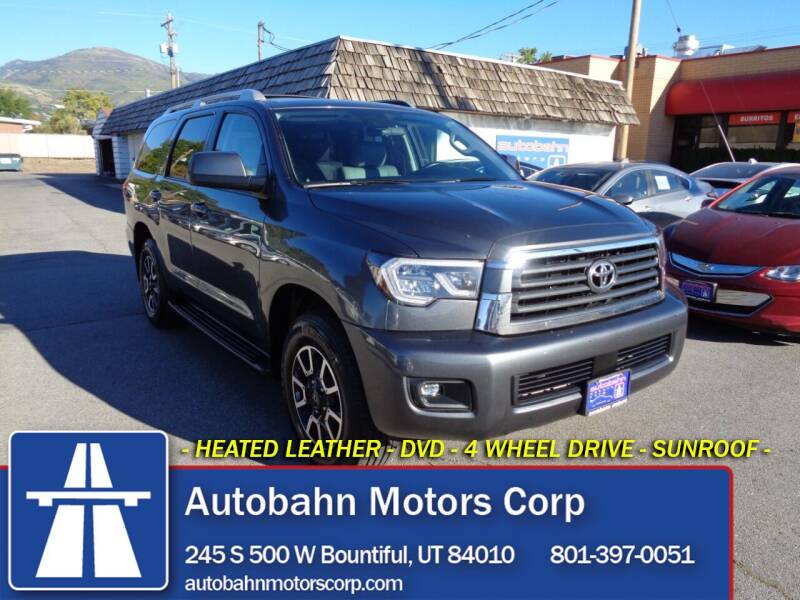2019 Toyota Sequoia for sale at Autobahn Motors Corp in Bountiful UT