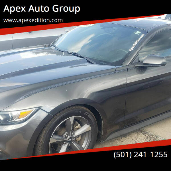 2015 Ford Mustang for sale at Apex Auto Group in Cabot AR