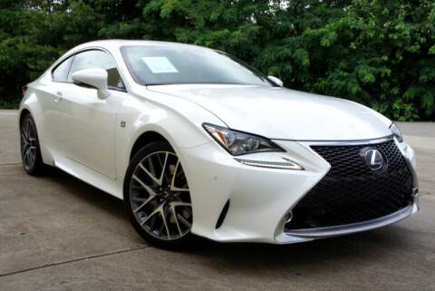 2015 Lexus RC 350 for sale at CU Carfinders in Norcross GA