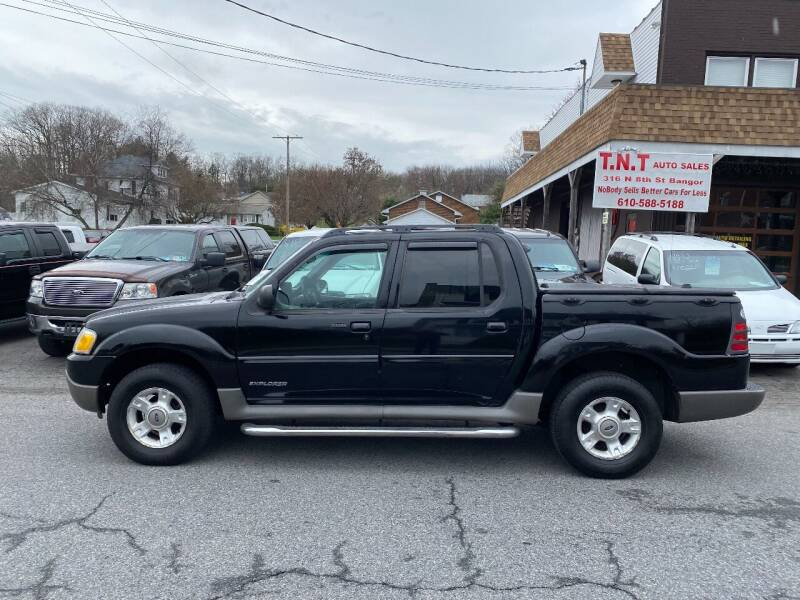 2002 Ford Explorer Sport Trac for sale at TNT Auto Sales in Bangor PA