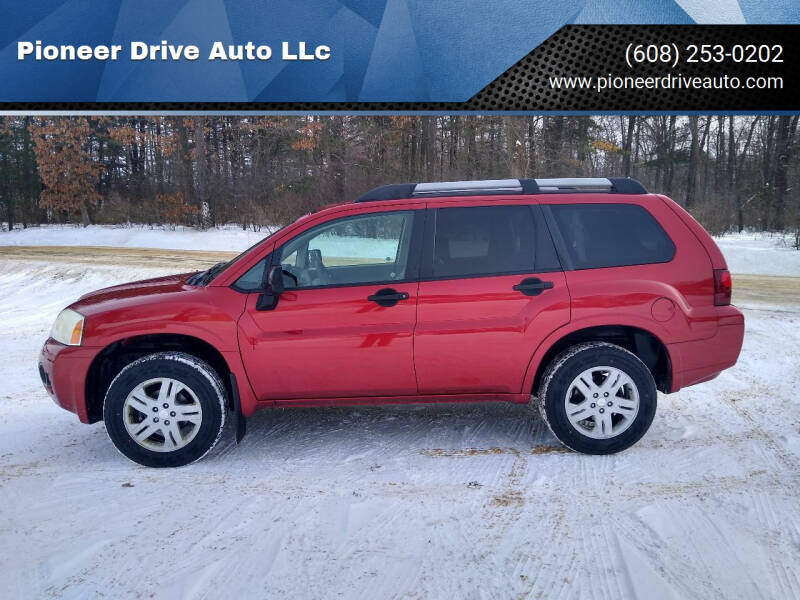 2008 Mitsubishi Endeavor for sale at Pioneer Drive Auto LLc in Wisconsin Dells WI