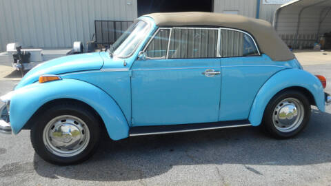 1973 Volkswagen Beetle Convertible for sale at Classic Connections in Greenville NC