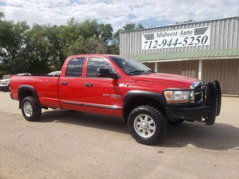 2006 Dodge Ram Pickup 2500 for sale at Midwest Auto of Siouxland, INC in Lawton IA