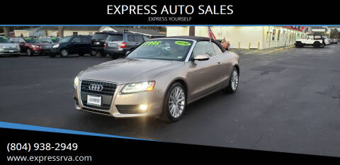 2010 Audi A5 for sale at EXPRESS AUTO SALES in Midlothian VA