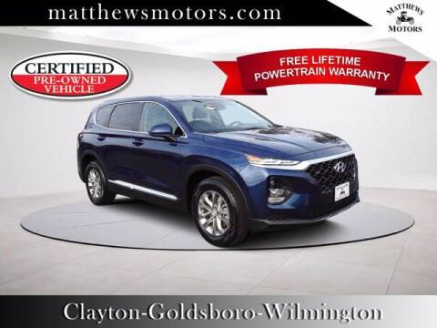 2019 Hyundai Santa Fe for sale at Auto Finance of Raleigh in Raleigh NC