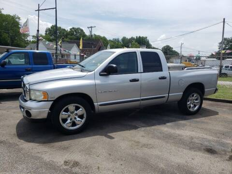 2003 Dodge Ram Pickup 1500 for sale at A-1 Auto Sales in Anderson SC