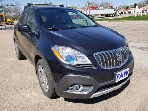 2013 Buick Encore for sale at Faw Motor Co in Cambridge NE