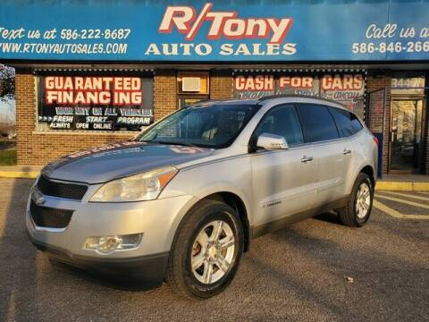 2009 Chevrolet Traverse for sale at R Tony Auto Sales in Clinton Township MI