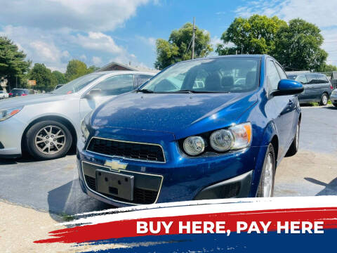 2012 Chevrolet Sonic for sale at Marti Motors Inc in Madison IL