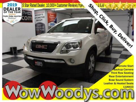 2011 GMC Acadia for sale at WOODY'S AUTOMOTIVE GROUP in Chillicothe MO