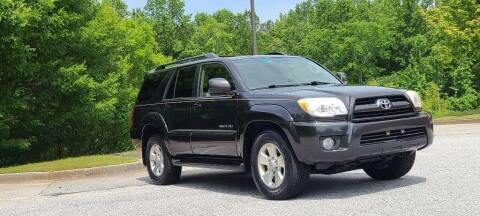 2007 Toyota 4Runner for sale at CU Carfinders in Norcross GA