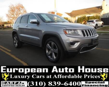 2014 Jeep Grand Cherokee for sale at European Auto House in Los Angeles CA