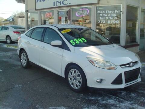 2012 Ford Focus for sale at G & L Auto Sales Inc in Roseville MI