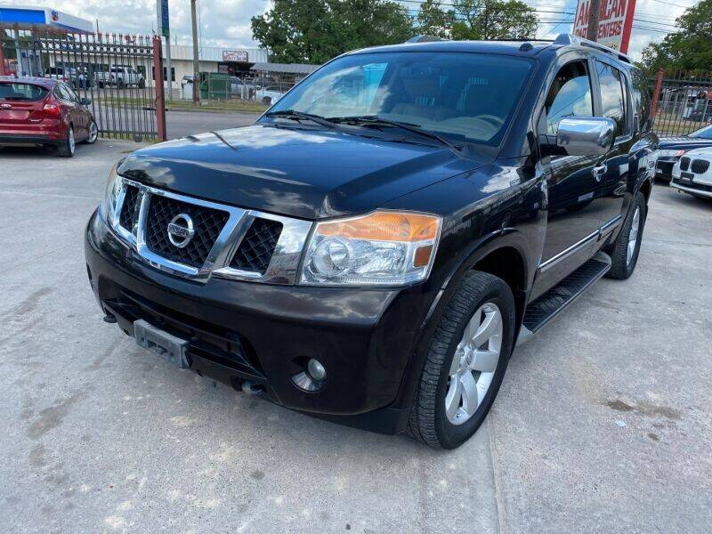2012 Nissan Armada for sale at Sam's Auto Sales in Houston TX