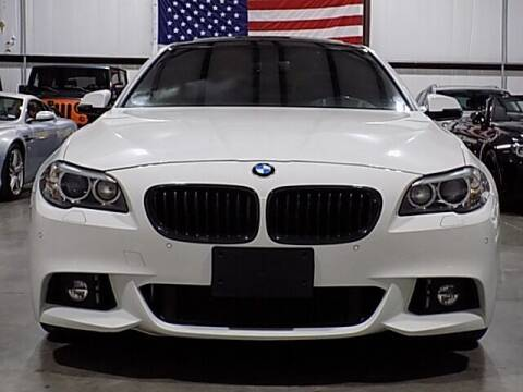 2016 BMW 5 Series for sale at Texas Motor Sport in Houston TX