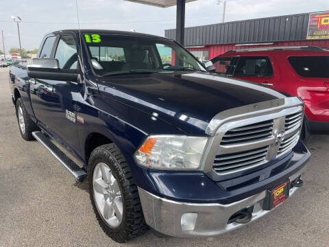 2013 RAM Ram Pickup 1500 for sale at Top Line Auto Sales in Idaho Falls ID