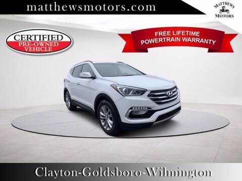 2018 Hyundai Santa Fe Sport for sale at Auto Finance of Raleigh in Raleigh NC