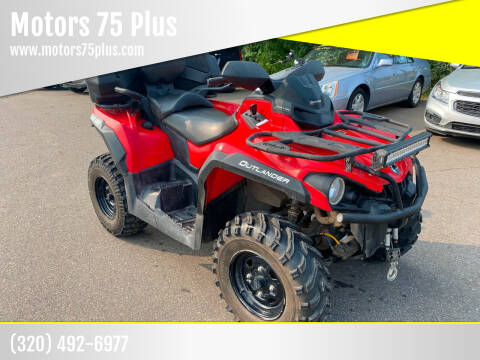 2017 Can-Am Outlander 570 Max for sale at Motors 75 Plus in Saint Cloud MN