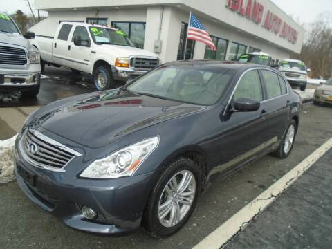 2012 Infiniti G25 Sedan for sale at Island Auto Buyers in West Babylon NY