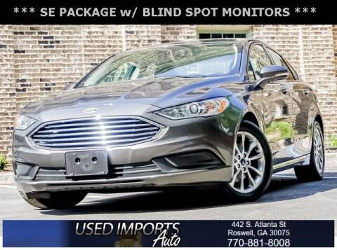 2017 Ford Fusion for sale at Used Imports Auto in Roswell GA