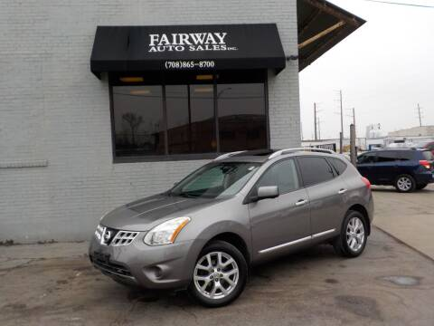 2012 Nissan Rogue for sale at FAIRWAY AUTO SALES, INC. in Melrose Park IL