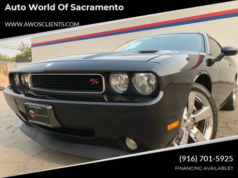 2010 Dodge Challenger for sale at Auto World of Sacramento Stockton Blvd in Sacramento CA