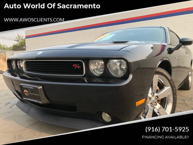 2010 Dodge Challenger for sale at Auto World of Sacramento Stockton Blvd in Sacramento CA