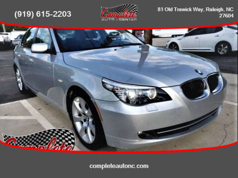 2009 BMW 5 Series for sale at Complete Auto Center , Inc in Raleigh NC
