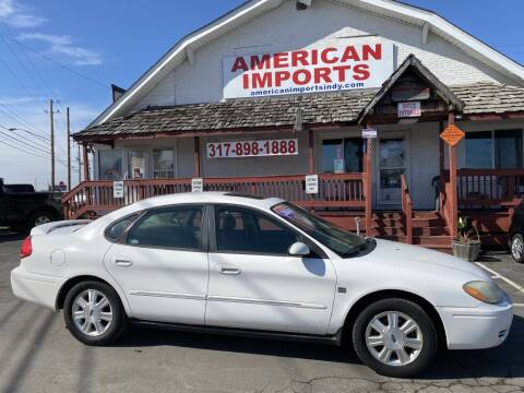 2004 Ford Taurus for sale at American Imports INC in Indianapolis IN