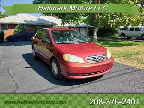 2007 Toyota Corolla for sale at HALLMARK MOTORS LLC in Boise ID