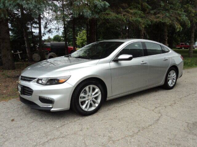 2017 Chevrolet Malibu for sale at HUSHER CAR COMPANY in Caledonia WI