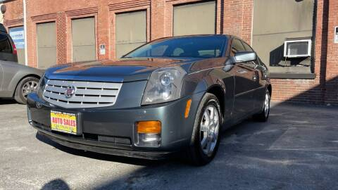 2007 Cadillac CTS for sale at Rocky's Auto Sales in Worcester MA
