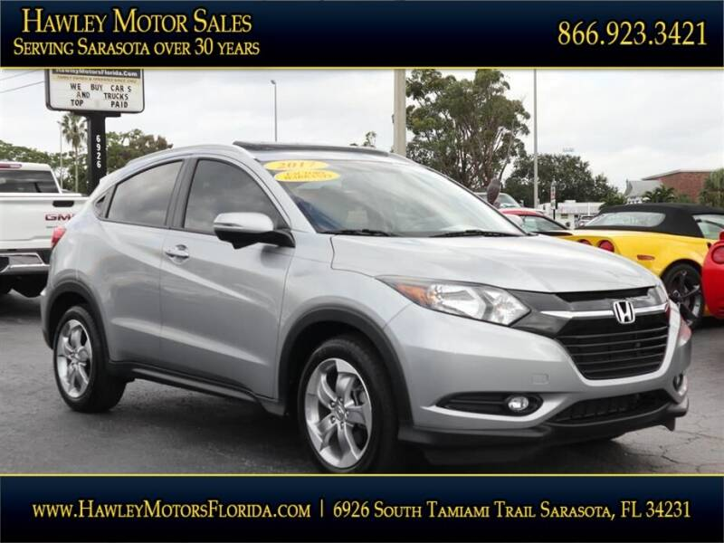 2017 Honda HR-V for sale at Hawley Motor Sales in Sarasota FL