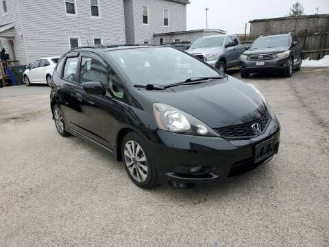 2012 Honda Fit for sale at Fortier's Auto Sales & Svc in Fall River MA