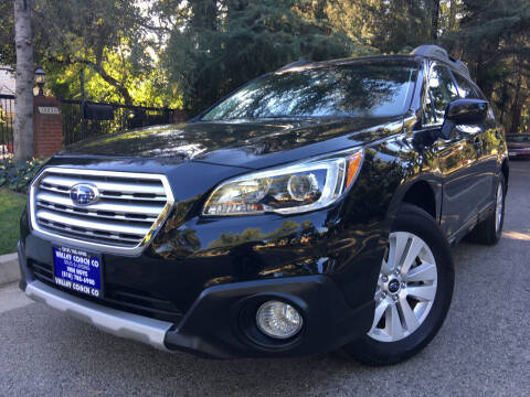 2017 Subaru Outback for sale at Valley Coach Co Sales & Lsng in Van Nuys CA