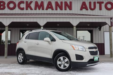 2016 Chevrolet Trax for sale at Bockmann Auto Sales in St. Paul NE