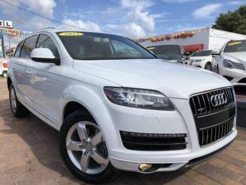 2015 Audi Q7 for sale at Cars of Tampa in Tampa FL