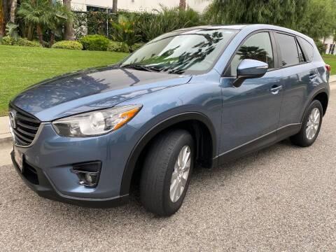 2016 Mazda CX-5 for sale at Donada  Group Inc in Arleta CA