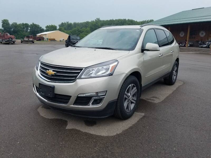 2017 Chevrolet Traverse for sale at Pro Auto Sales and Service in Ortonville MN
