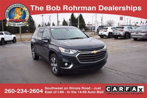 2019 Chevrolet Traverse for sale at BOB ROHRMAN FORT WAYNE TOYOTA in Fort Wayne IN