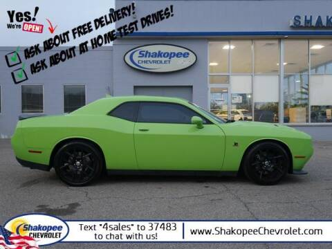 2015 Dodge Challenger for sale at SHAKOPEE CHEVROLET in Shakopee MN