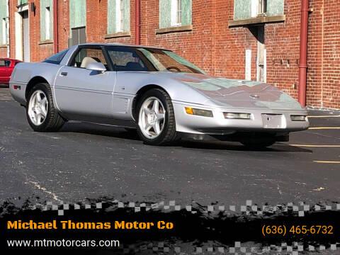 1996 Chevrolet Corvette for sale at Michael Thomas Motor Co in Saint Charles MO