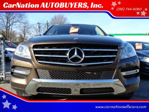 2013 Mercedes-Benz M-Class for sale at CarNation AUTOBUYERS, Inc. in Rockville Centre NY