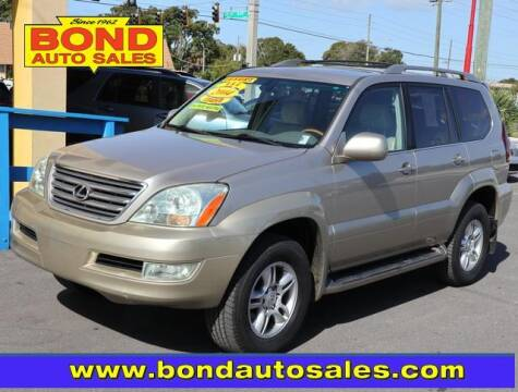 2004 Lexus GX 470 for sale at Bond Auto Sales in St Petersburg FL