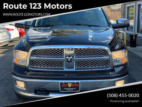 2011 RAM Ram Pickup 1500 for sale at Route 123 Motors in Norton MA